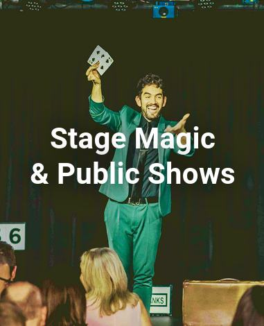 Stage Magic and Public Shows